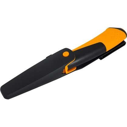 Нож универсальный Fiskars с точилкой