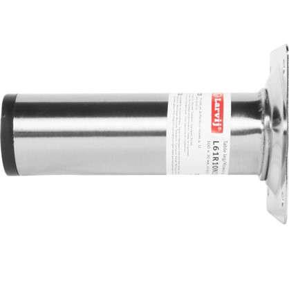 Купить Ножка круглая 100х30 мм цвет никель дешевле