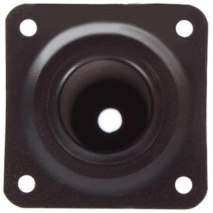Ножка круглая 30х150 мм цвет черный