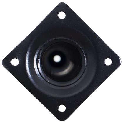 Ножка круглая 500х30 мм цвет черный