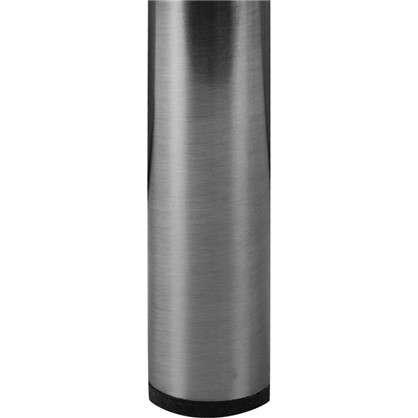 Ножка круглая 800х30 мм цвет никель