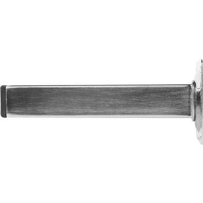Ножка квадратная 150х25х25 мм цвет никель