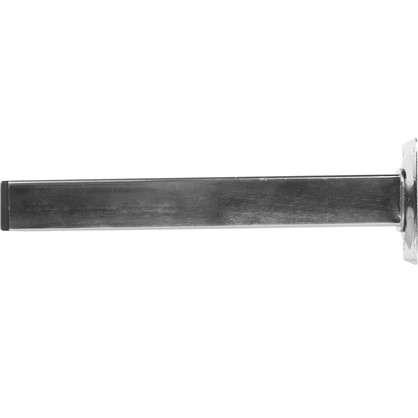 Ножка квадратная 200х25х25 мм цвет никель
