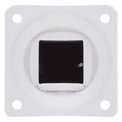 Ножка квадратная 25х25х250 мм цвет белый