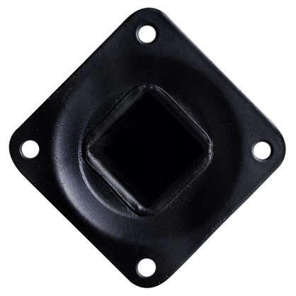 Ножка квадратная 300х25х25 мм цвет черный