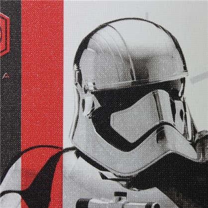 Обои 106х10 м флизелиновые бело-красные рисунок Star Wars