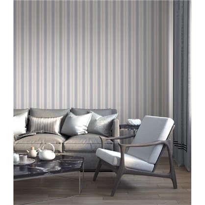 Обои 1369-14 виниловые  цвет серый 0.53x10 м