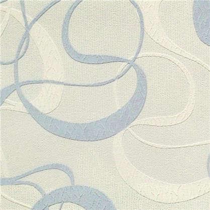 Обои 162077-25 виниловые на бумажной основе цвет голубой 0.53x10 м