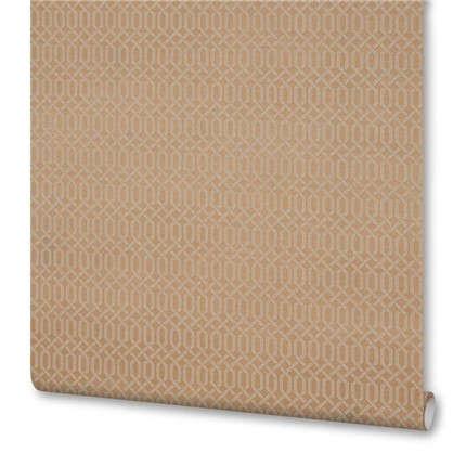 Обои 38340-14 на бумажной основе цвет коричневый 0.53х10 м