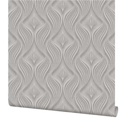 Обои Абстракция ПАPL71201-44 флизелиновые цвет серый 1.06х10 м