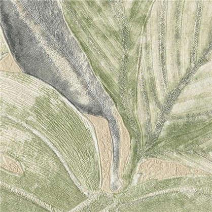 Обои Aloha Листья АС 363245 флизелиновые цвет бежевый 1.06х10 м