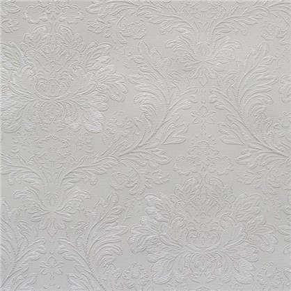 Обои Болеро ЭЛ29600 на бумажной основе цвет белый 0.53х10 м
