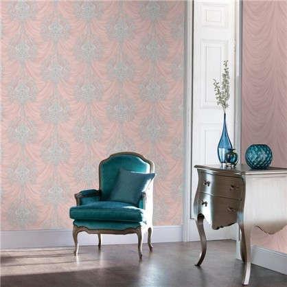 Обои Bottice 1157-07 флизелиновые цвет розовый 1.06х10 м