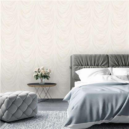 Обои Bottice 1158-00 флизелиновые цвет белый 1.06х10 м