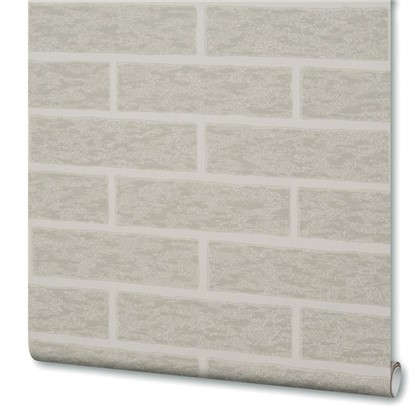 Обои Brick 38335-06 на бумажной основе цвет серый 0.53х10.05 м