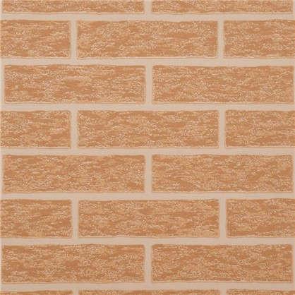 Обои Brick 38335-07 на бумажной основе цвет оранжевый 0.53х10.05 м