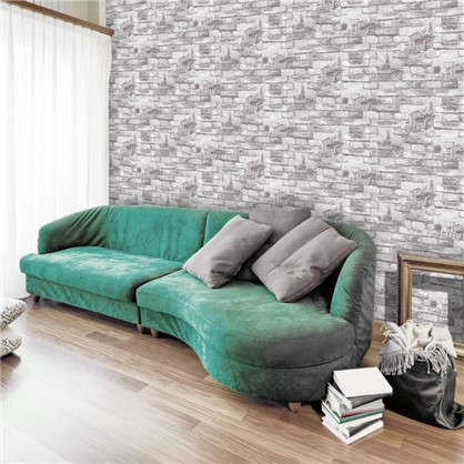 Обои Бристоль 316 11 виниловые  цвет серый 0.53x10 м