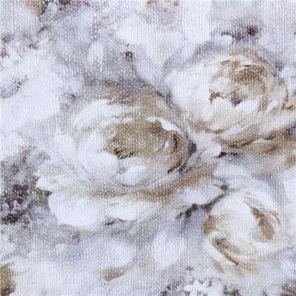 Обои бумажные 0.53х10 м цветы цвет серый ED 1001-1
