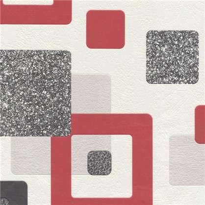 Обои бумажные 053х10 м цвет красный 1357-5