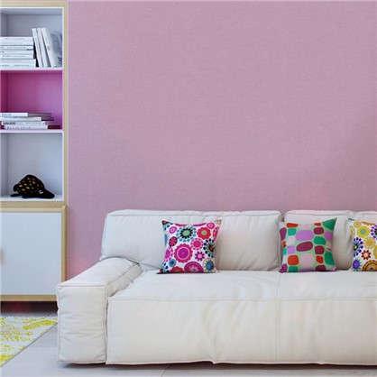 Обои бумажные для детской Торшон 0.53х10.05 м цвет розовый
