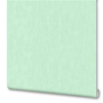 Обои Цветы бумажные цвет бирюзовый 0.53х10 м