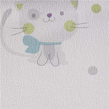 Обои дуплекс Кошки 0.53х10 м цвет сиреневый ER 7358-09