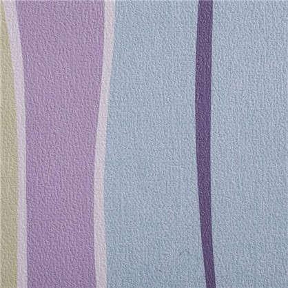 Обои дуплекс Полосы 0.53х10 м цвет сиреневый ER 7351-21