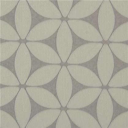Обои флизелиновые 0.53х10 м цвет серый 469156