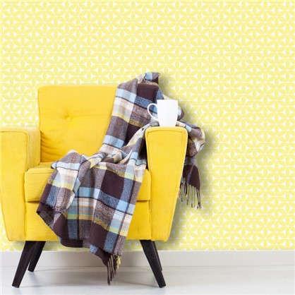 Обои флизелиновые 0.53х10 м цвет желтый 469149