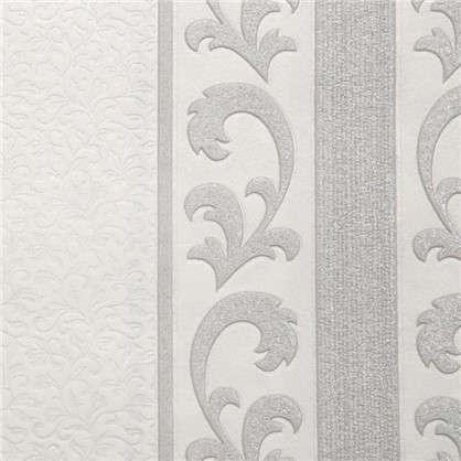 Обои флизелиновые 053х10 м полосы цвет серый PL51006-14