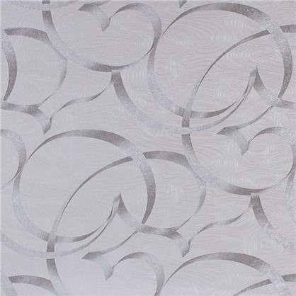 Обои флизелиновые 1.06х10 м ленты цвет серый ED 1007-11