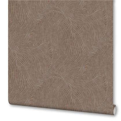 Обои флизелиновые 106х10 м цвет коричневый ED1131-12