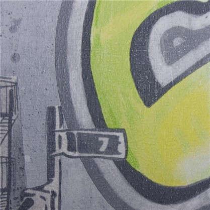Обои флизелиновые для детской Граффити 0.53х10 м сцвет серый АС 304682