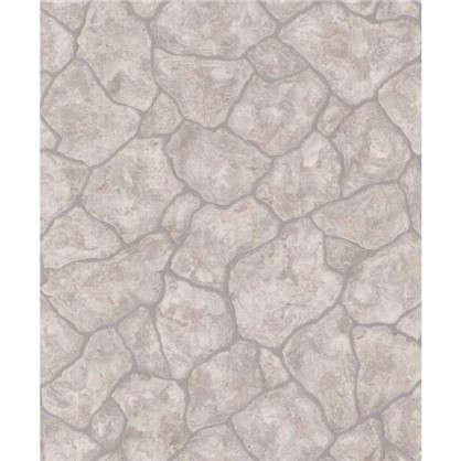 Обои флизелиновые Камни 0.53х10 м цвет серый Па N 1001-14