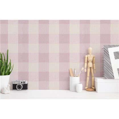 Обои флизелиновые Палитра PL71107-15 1.06x10 м цвет розовый