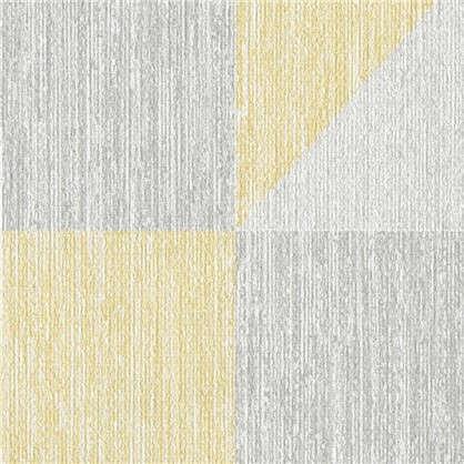 Обои Геометрия АС351811 флизелиновые цвет серый 0.53х10 м