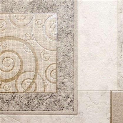 Обои Грация виниловые на бумажной основе цвет серый 0.53x10 м