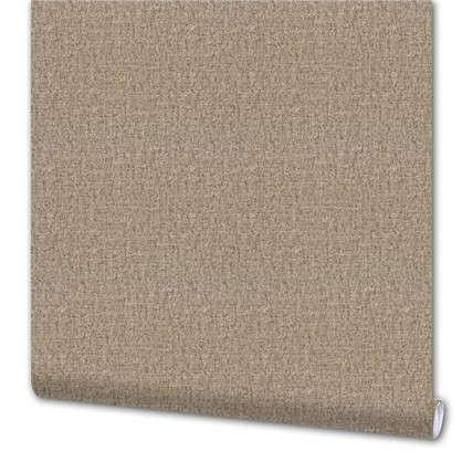 Обои Холст 1091/3 виниловые на флизелиновой основе цвет коричневый 1.06x10 м