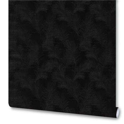 Обои Индиго 168173-09 на флизелиновой основе цвет черный 1.06х10 м