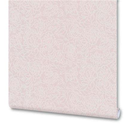 Обои MW 15-24 флизелиновые цвет розовый 1.06х10 м
