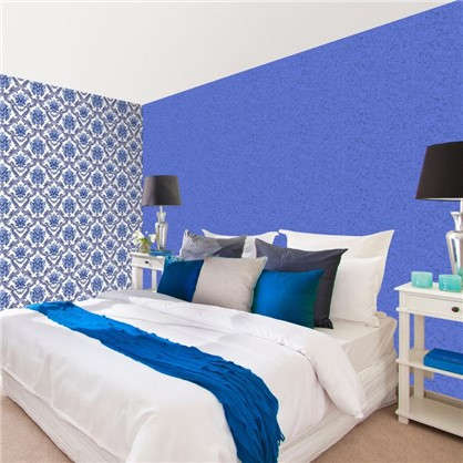 Обои на бумажной основе 0.53х10 м цвет синий АС Пал 10027-66