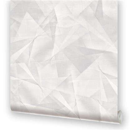 Обои на бумажной основе Крафт 0.53х10.05 м цвет серый 5