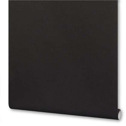 Обои на флизелиновой основе 0.53х10 м кожа цвет черный Ra 576078