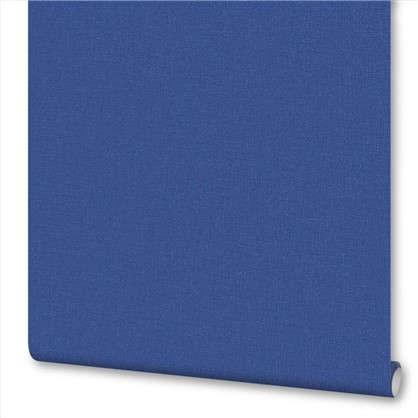 Обои на флизелиновой основе 0.53х10 м однотон цвет синий Ra 449860