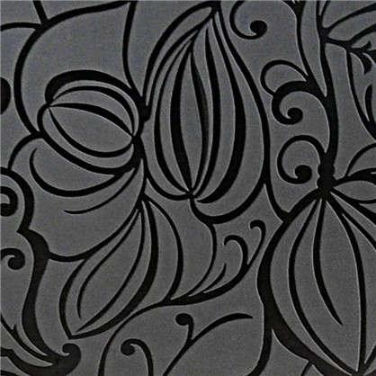 Обои на флизелиновой основе Аврора 1.06х10 м цвет черный Эл Е71010