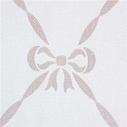 Обои на флизелиновой основе для детской 0.53х10 м бантики цвет белый id JR 3205
