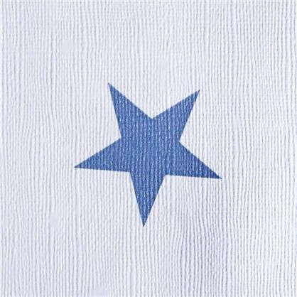 Обои на флизелиновой основе для детской Звезды 0.53х10.05 м цвет серый