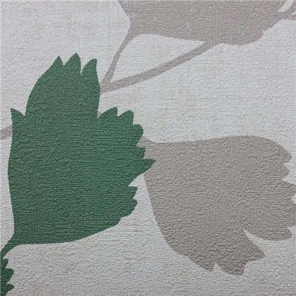 Обои на флизелиновой основе Кориан 0.53х10 м цвет зеленый Ra 490855