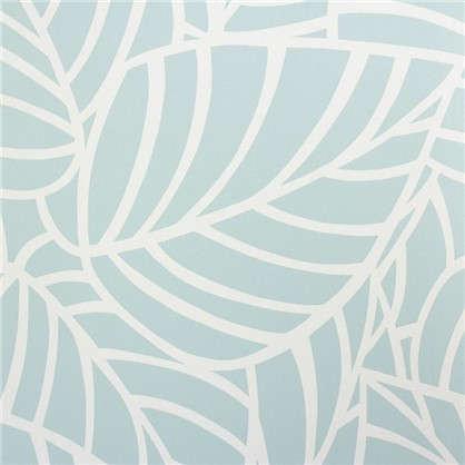 Обои на флизелиновой основе Листья 0.53х10 м цвет синий Ra 603606