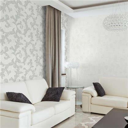 Обои на флизелиновой основе Вензель 1.06х10 м цвет белый VS 988857